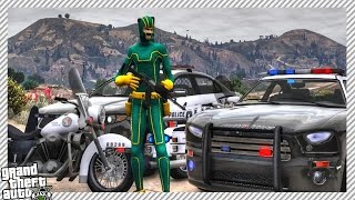 GTA 5 LSPDFR Mods - 'KICKASS' Becomes Police Officer!! (GTA 5 Police Officer Gameplay)