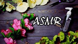 #ASMR #АСМР ПОШУРШИМ ЦВЕТАМИ? TAPPING FLOWERS