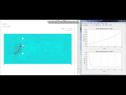 Crack Propagation In MECHANICAL APDL