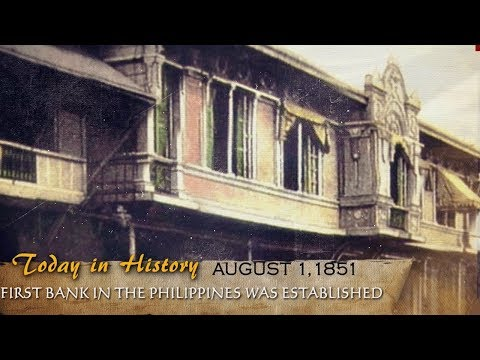 The first bank in the Philippine was established in 1851 | T