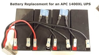 How To Replace Batteries on an APC 1400XL Rack Mount UPS with Wiring Diagram  - YouTube | Battery For Apc Smart Ups 300rm Wiring Diagram |  | YouTube