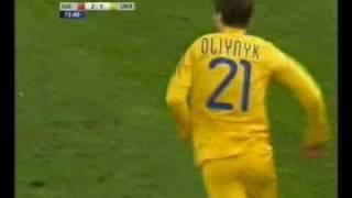 Швейцария -- Украина -- 2:2 (четвёртый гол)