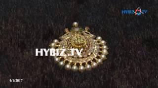 Ruby emarald uncut diamond locket   Sri Jagadamba Pearls And jewellers   hybiz