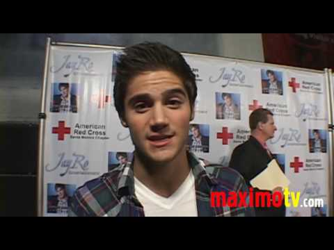 MAX EHRICH Interview at Benefit For Haiti Event