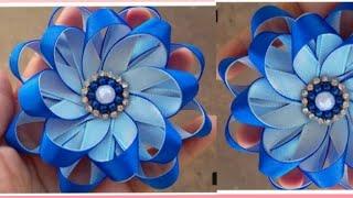 Flor Delicada de fitas