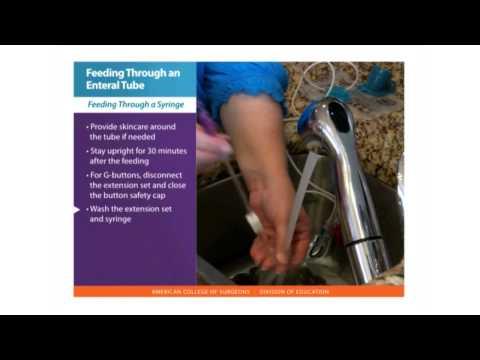 Feeding Tube Skills: Feeding Through An Enteral Tube