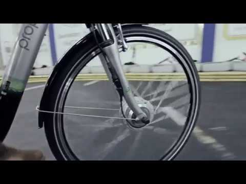 e bike 28 zoll von prophete inkl steuer display mit led anzeige youtube. Black Bedroom Furniture Sets. Home Design Ideas