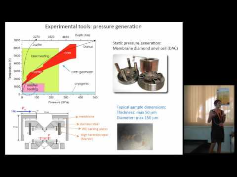 SUPS A1: M. Citroni - Chemistry at High Pressure