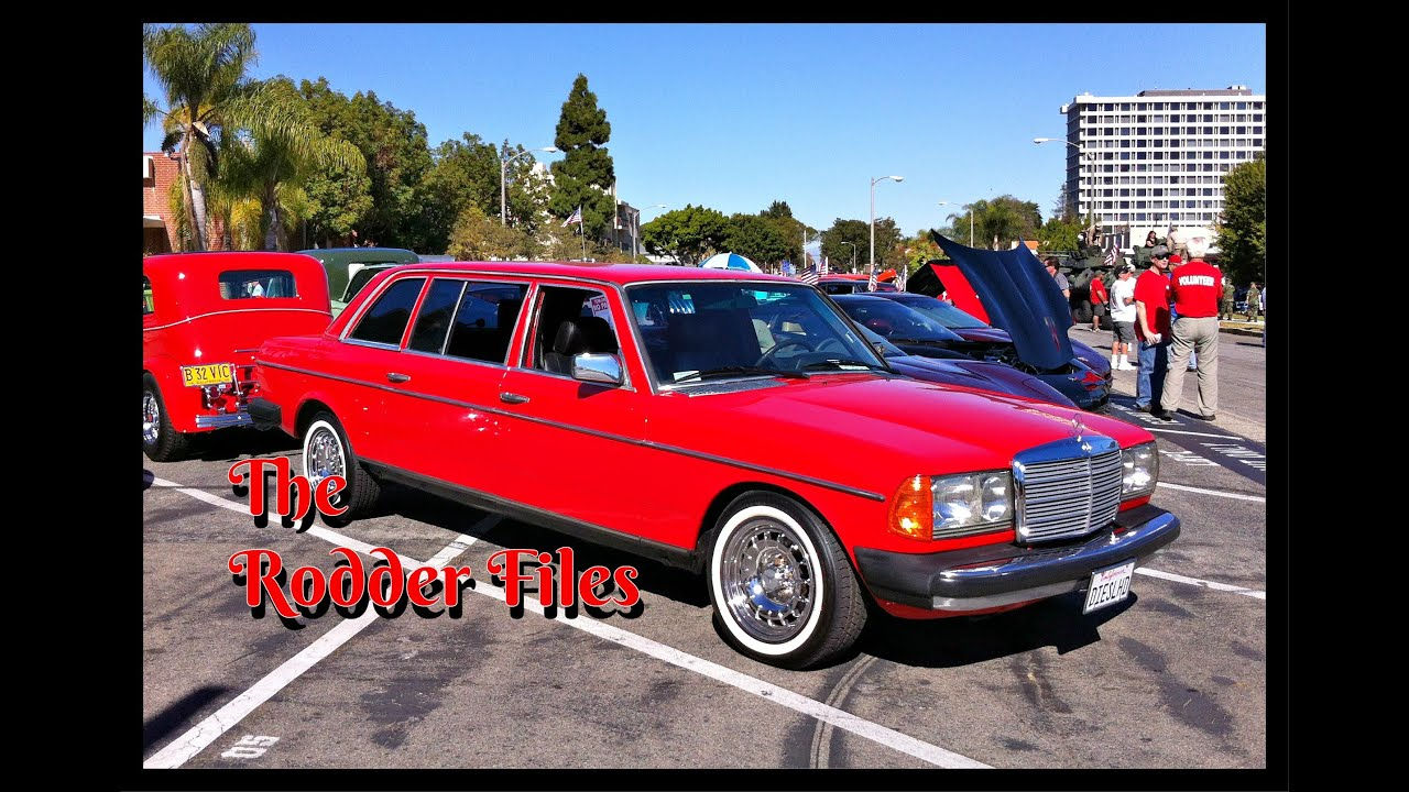 1981 Mercedes 300D Limo Classic - YouTube