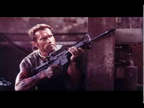 Musique film - Running man 1987 ( Arnold Schwarzenegger ).