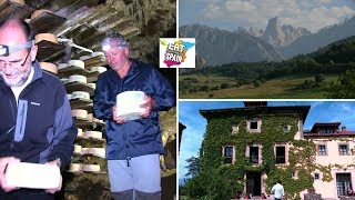 Cabrales, Spain's best blue cheese. A visit to the caves where it is aged in Picos de Europa