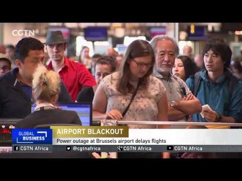 Power outage at Brussels airport delays flights