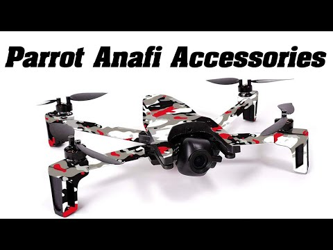 Parrot Anafi - Review - Accessories, What's Trash and What's worth YOUR Cash