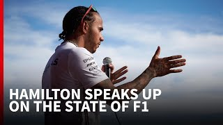Why Lewis Hamilton's right to point the finger on F1's problems