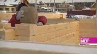 Строим деревянный дом из профилированного бруса // WOOD MARK(, 2015-12-25T11:37:52.000Z)