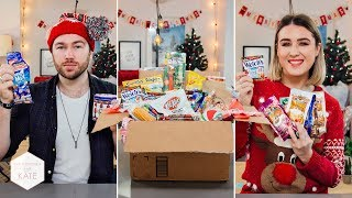 We got a massive American Candy Box for Christmas!- In The Kitchen With Kate