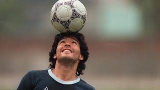 Diego Maradona, légende du football et