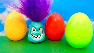 Friendly Monster and Surprise Eggs  अनुकूल राक्षस, आश्चर्य अंडे