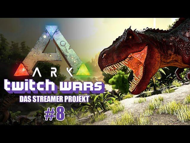 Erfolgreiche Taming Tour 🦖 ARK Twitch Wars #08 [Lets Play Deutsch]