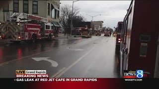 Gas leak at GR restaurant prompts emergency response