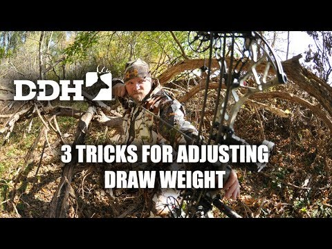 3 Tricks for Adjusting Draw Weight | D+DH Bow Shop @deerhuntingmag