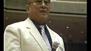 東京・両国国技館1989年12月23日 開催。大山倍達、盧山初雄、マッハ文朱...