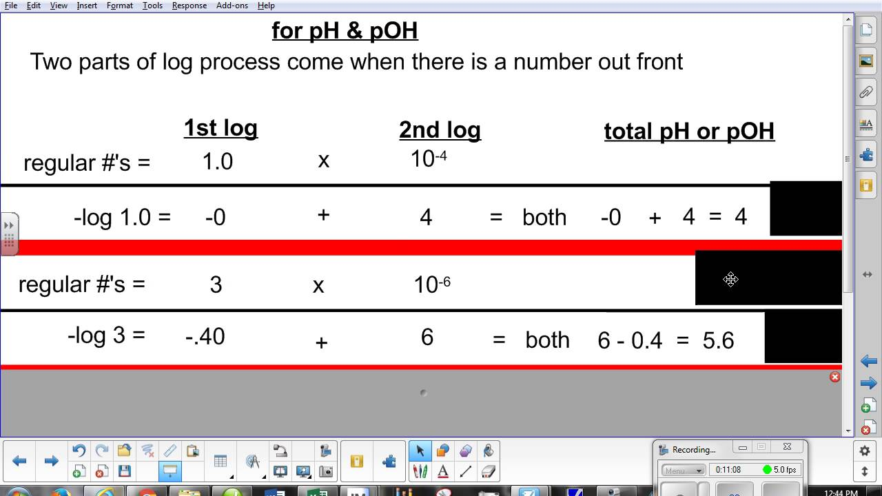 Worksheet Ph And Poh Calculations Worksheet Worksheet Fun