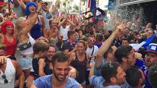La France championne du monde : les dernières secondes du match à Cognac