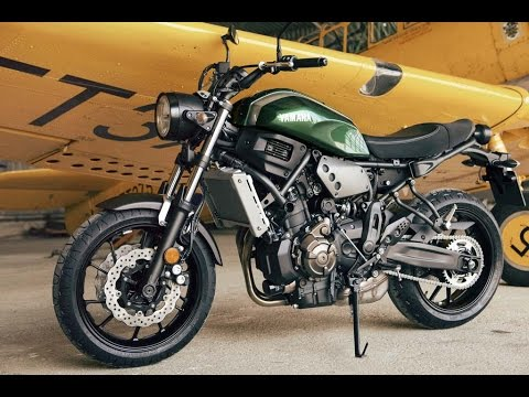 Yamaha XSR700 Scrambler Version In Kentauros