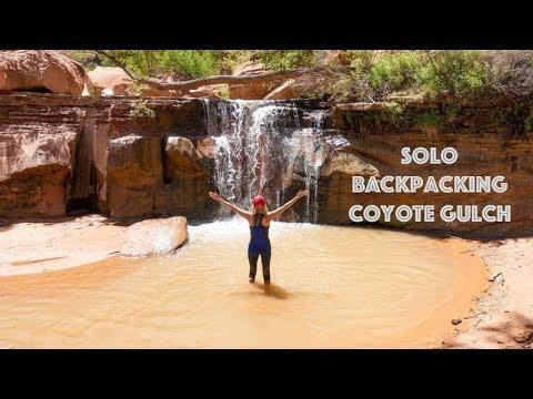 Solo Backpacking Coyote Gulch | Escalante, Utah