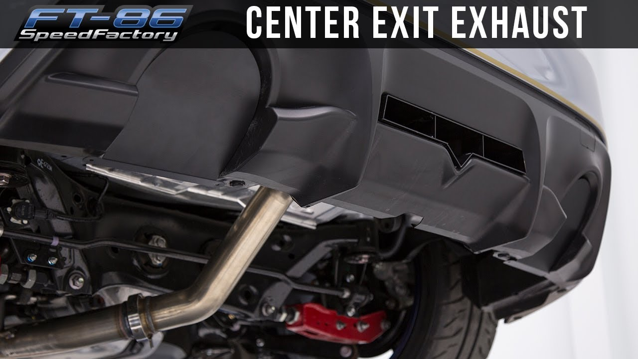 center exit exhaust install review frs brz 86