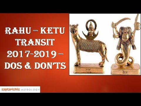 Rahu - Ketu Transit 2017-2019 - Dos & Don'ts