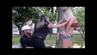 Nude girl prank in Public - Redetv new prank video