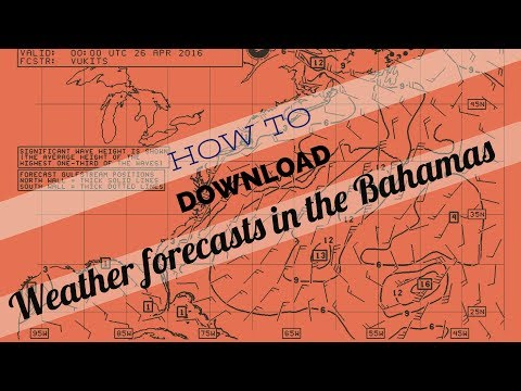 DIY Weather forecasts, Bahamas(Episode 20)