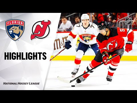 NHL Highlights | Panthers @ Devils 2/11/20