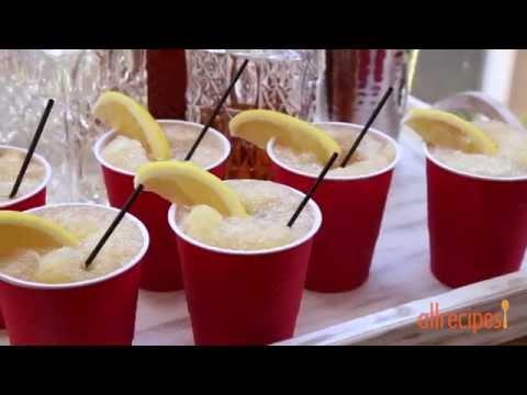 How to Make a Whiskey Slush   Frozen Cocktails   Allrecipes.com