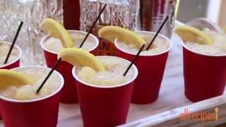 Frozen Cocktails - How To Make A Whiskey Slush