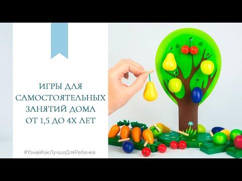 Игры для самостоятельных занятий дома от 1,5 до 4х лет. Валентина Паевская.