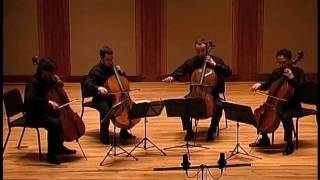 Boston Cello Quartet plays Mozart, Overture to The Marriage of Figaro