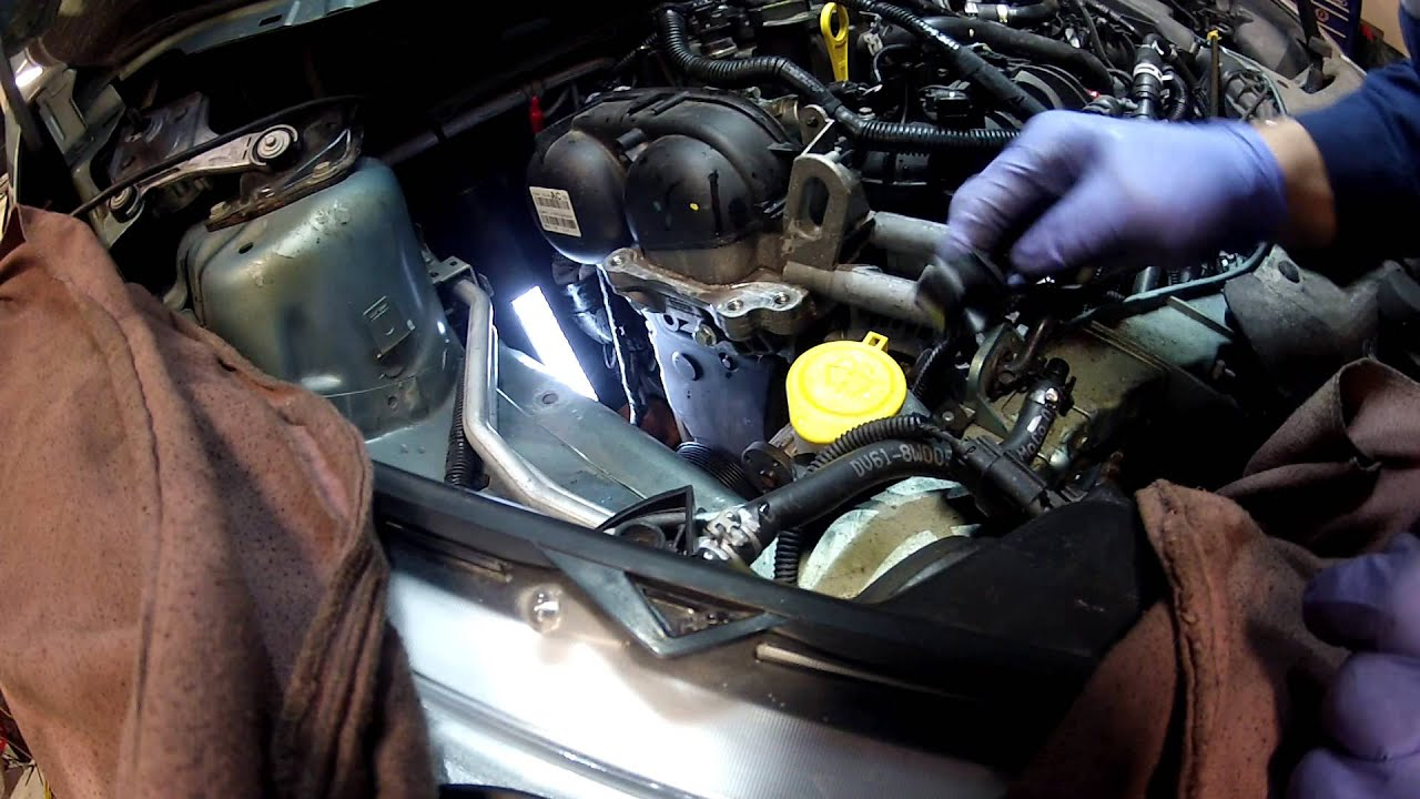 2013 Ford Escape 1.6 liter coolant pump video #5 - YouTube