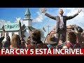 Far Cry 5 está  ficando INCRÍVEL, NOVO gameplay no MUNDO ABERTO