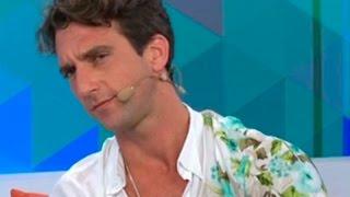 Antonio Pavón le dio consejos amorosos a Gino Assereto
