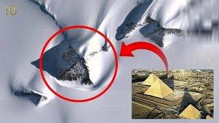 В Антарктиде Найдены Пирамиды Созданные Неизвестной Древней Цивилизацией Похожие на Пирамиду Хеопса