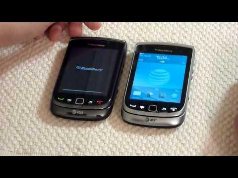 Blackberry Torch 9810 and 9800 Comparison