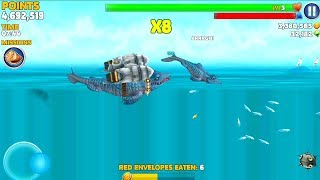 Hungry Shark Evolution Mr Snappy Gameplay HD #3