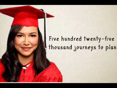 Seasons Of Love Glee Lyrics (Version Season 3)