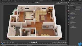 How To Make 3d Floor Plan In Blender | Best Method Modeling