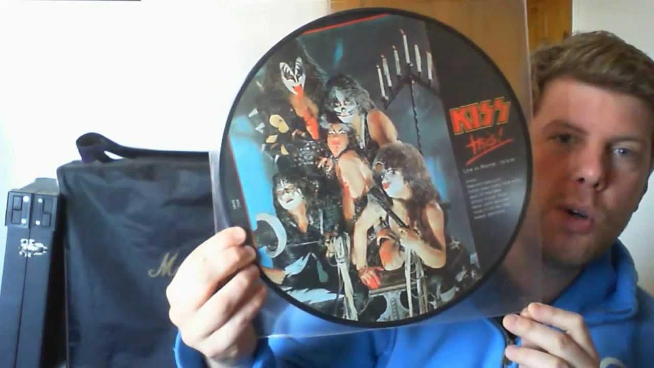 kiss alive 2 misprints plus sonic boom vinyl live records pic discs youtube. Black Bedroom Furniture Sets. Home Design Ideas