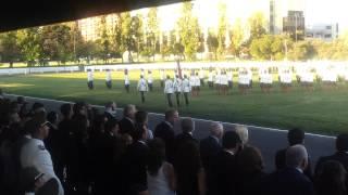 Juramento a la bandera ESCAR 2013