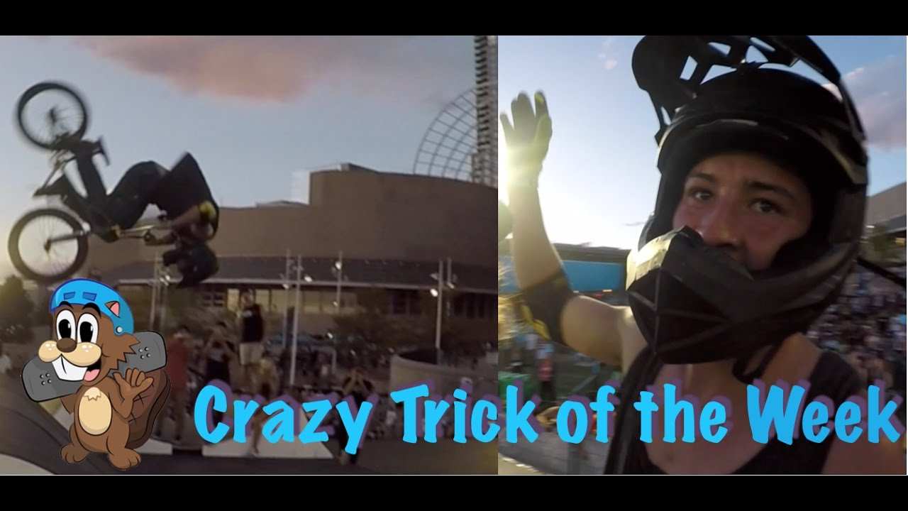 Crazy Trick of the Week: DOUBLE FRONTFLIP - YouTube